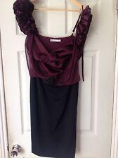KAREN MILLEN DRESS SIZE 12 PERFECT CONDITION SMART STYLE EVENING DRESS