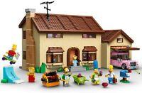 LEGO MEGA COMPATIBIL100% 2575pc☆MOC LA CASA DEI SIMPSON☆◄ BULKBOX NEW ◄ PERFECT