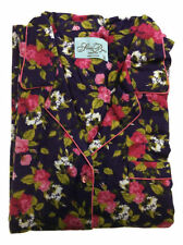 Machine Washable Pajama Sets Floral Sleepwear for Women