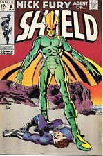 Nick Fury, Agent of SHIELD Comic Book #8, Marvel Comics 1969 FINE+