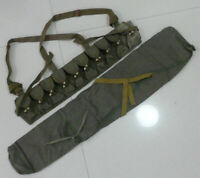 Surplus Chinese Army Type 56 SKS Rifle Bag Cover Pack SKS Ammo Pouch Chest Rig