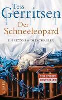 Der Schneeleopard / Jane Rizzoli v. Tess Gerritsen geb. Ausgabe wie neu spannend