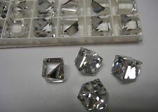 SWAROVSKI ® - 10 Pz  Cubo 4841-8 mm. Clear Crystal Comet Argent Light VZ Unfoile