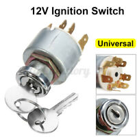4 Position Ignition Lock Cylinder Switch +2 Keys For SPB501 Car Boat Motorcycle