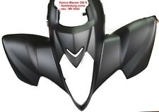Kymco - Maxxer - 300 S - Verkleidung vorne - schwarz matt