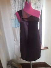 Amazing All Saints Elaina Dress Oxblood  Size 10 Excellent Condition