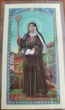 'St. Gertrude's Prayer' laminated prayer card