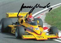 Hans Binder (AUT) Formel Eins 1976 ATS Racing original signiert/signed !!!