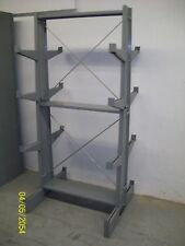 "Lyon Double Sided Cantilever Rack 79"" T X 36"" W X 34"" D 12"" Arms Bar Pipe Rod"