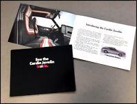 1972 AMC American Motors Pierre Cardin Javelin Vintage Car Sales Brochure