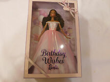 Happy Birthday Wishes Barbie Nikki African American Doll 2017 Collector