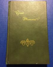 VTG GRAND MEMORIES DAUGHTERS OF UTAH PIONEERS GRAND COUNTY UTAH PIONEER HISTORY