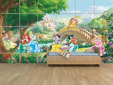 PRINCESS PRINCESSES DISNEY CASTLE  POSTER MASSIVE HUGE ROOM KIDS 252CM X 150CM