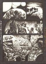 Four Horsemen of the Apocalypse - Cheering - Signed art by Simon Bisley Comic Art