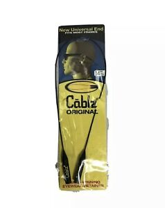 NEW Cablz Monoz Yellow black Light Cable Universal Fit Eyewear Retainer 14""