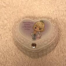 """Precious Moments  Trinket Box  2002 """"There's Always A Place In My Heart For You"""""""