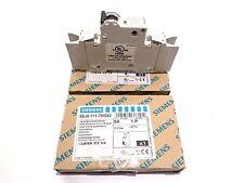 Siemens 5SJ4 111-7HG42 Circuit Breakers 5A 1P 277V. Lot of 2