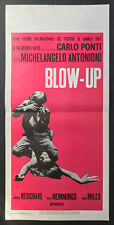 CINEMA-locandina BLOW - UP redgrave,hemmings,miles,ANTONIONI