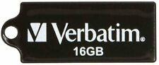 Verbatim Store 'n' Go Micro 44050 16 GB USB Flash Drive - Black - External