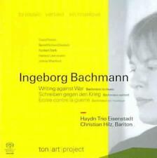 INGEBORG BACHMANN: WRITING AGAINST WAR - BACHMANN TO MUSIC[HYBRID SACD] NEW CD