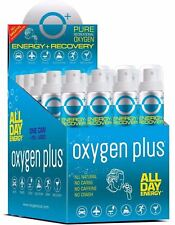 Oxygen Plus O+ Skinni 24 Pack Recreational Oxygen Natural Energy Boost in a Can