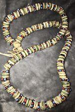 Antique Tantric Buddhist Kapala Mala Meditation Beads Necklace