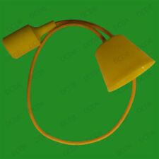 Plafonniers et lustres jaunes en plastique sans marque pour la maison