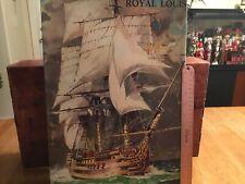 (S) VINTAGE HELLER Royal Louis Ship Model Kit 1/200