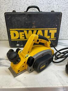 DeWalt DW678E ELECTRIC PLANER 240V