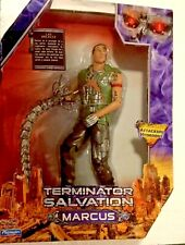 """Terminator Salvation Marcus, 10"""", With Attacking Hydrobot Playmates"""