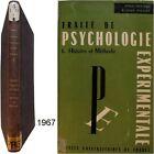 Traité psychologie expérimentale 1 histoire & méthode 1967 Jean Piaget Fraisse b