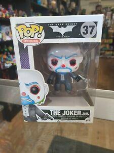 Funko Pop The Joker Bank Robber AUTHENTIC Vaulted The Dark Knight #37