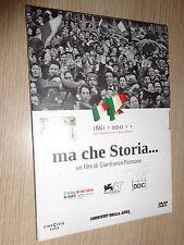 DVD MA CHE STORIA..UN FILM DI GIANFRANCO PANNONE 1861-2011 CINECITTA´ LUCE