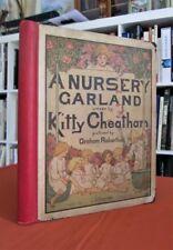 Livre Enfant ancien - A nursery Garland. - Dédicacé par Kitty Cheatham en 1918