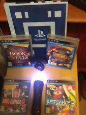 Ps move and camera PS3 dance 3 and 4 and  like  Jurassic world  game (PS3)