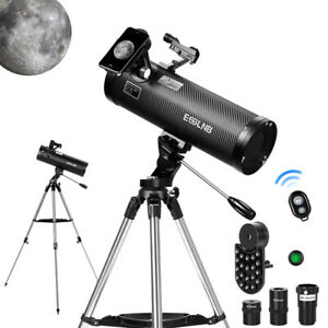 F500114M  Astronomical Reflector Telescopes with  Phone Adapter 3X Barlow Lens