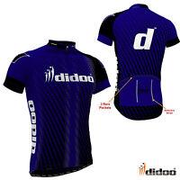 Didoo Men's Half Sleeves T-Shirts Cycling Top Bike Jerseys Athlete Racing Team