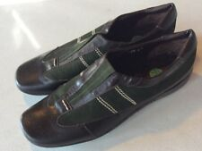Sesto Meucci Womens Brown Leather Driving Loafer Slip On Shoes 7.5 N