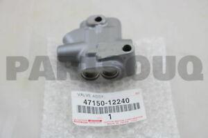 4715012240 Genuine Toyota VALVE ASSY, PROPORTIONING 47150-12240