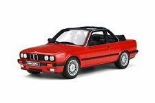 BMW E30 BAUR CONVERTIBLE BRILLIANT ROT/ RED LTD ED 1/18 CAR BY OTTO MOBILE OT767