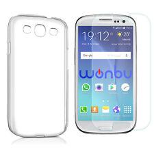 Funda Carcasa + Cristal Templado Para Samsung Galaxy S3 Neo GT-I9300I