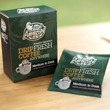 100% Roasted and Ground Cafe Amazon Signature Drip Fresh Coffee Pack 5 Box