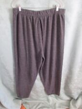 VTG 90's Gray Knit Pants Plus Size 3X EUC Soft & Comfortable