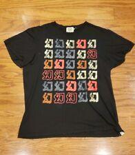 Juicy Couture Mens T-Shirt black design XL