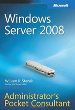Windows Server 2008  Administrator's Pocket Consultant,William R. Stanek
