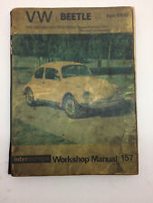 Intereurope 157 VW Beetle from 1968- Workshop Service Manual inc Type 181