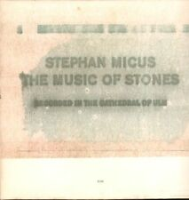 Stephan Micus(Vinyl LP Gatefold)The Music Of Stones-ECM-ECM 1384-German-Ex/VG