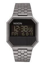 Nixon Re-Run Watch All Gunmetal NEW in box