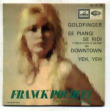 """B.O.F """" GOLDFINGER """" EP PATHE EGF 796 ( frank Pourcel )"""