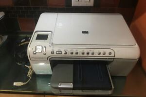 HP Photosmart C5280 All-In-One Printer Scanner Copier For Parts Carriage Jam